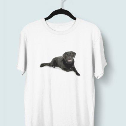 Tričko s 3D potiskem (pes 8)