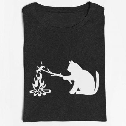 Dámské/pánské tričko táborák