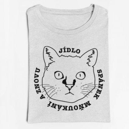 Dámské / pánské tričko Kočičí den