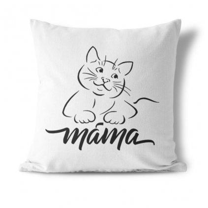 Polštářek Kočičí máma