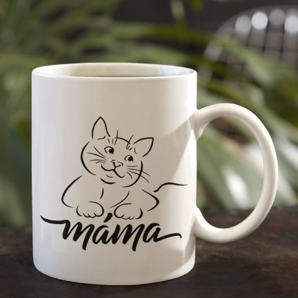 kočičí máma