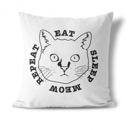 Polštářek Cat life