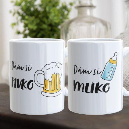 pivko mliko