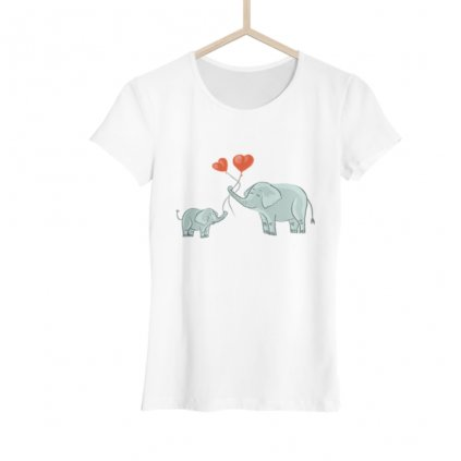 Dámské tričko Sloní láska