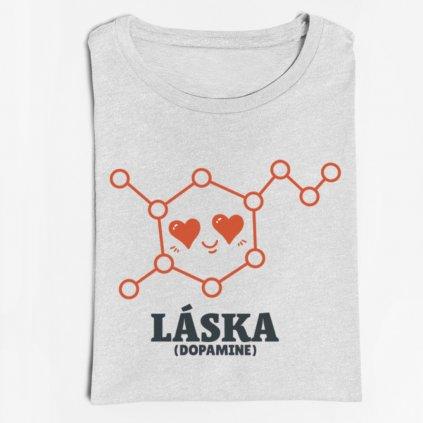 Dámské tričko Láska (molekula)
