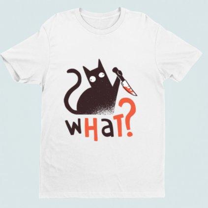 Pánské tričko Cat knife