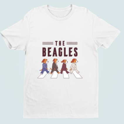 Pánské/dámské tričko The Beagles