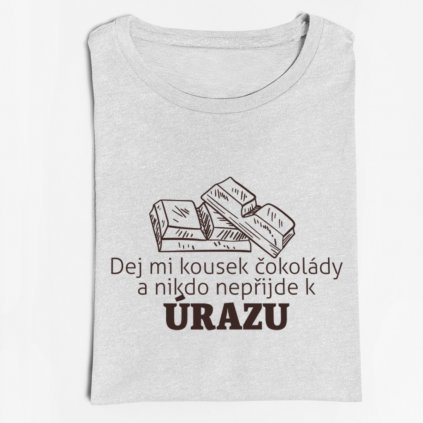 Dámské tričko Kousek čokolády