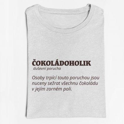 Dámské/Pánské tričko Čokoládoholik (definice)