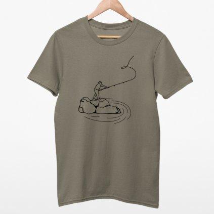 Dětské tričko - Rybář
