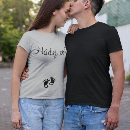 Dámské tričko Hádej co?