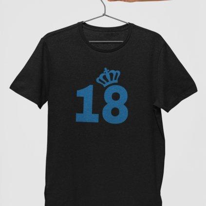 Pánské narozeninové tričko 18 (korunka)