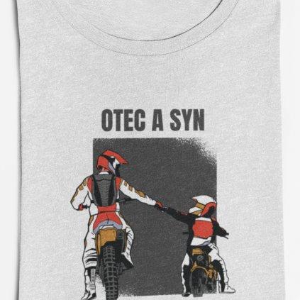 Pánské tričko Otec a syn (motorky)