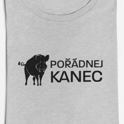 Pánské tričko Pořádnej kanec