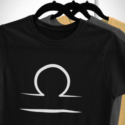 Pánské/Dámské tričko Znamení zvěrokruhu - váhy