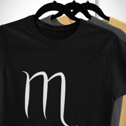 Pánské/Dámské tričko Znamení zvěrokruhu - štír