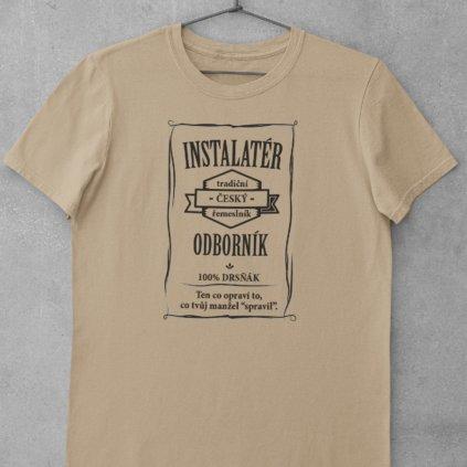 Pánské tričko Odborník - pokrývač