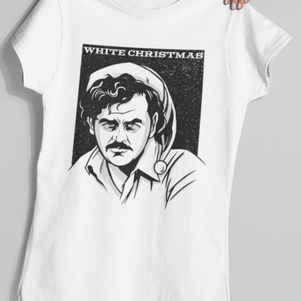 Pánské/Dámské tričko White christmas