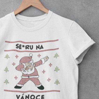 Pánské/Dámské tričko Se*ru na Vánoce