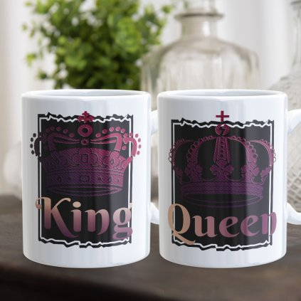 king queen royal