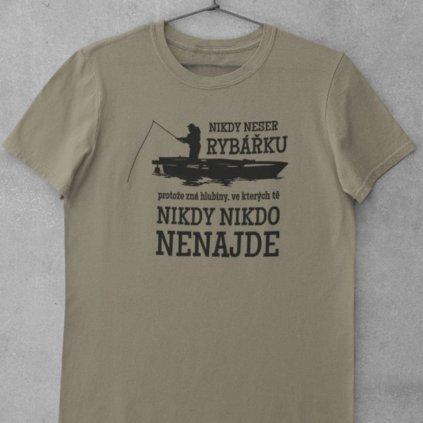 Dámské tričko - Neser rybářku