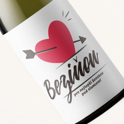 Víno Beziňon pro nejlepší ženskou pod sluncem