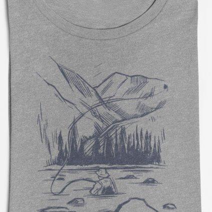 Pánské tričko - Muškaření