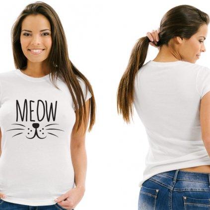 Dámské tričko MEOW