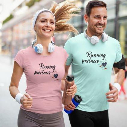 Párová trička Running partners
