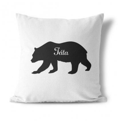 Sada polštářků Bears family (jméno na přání)