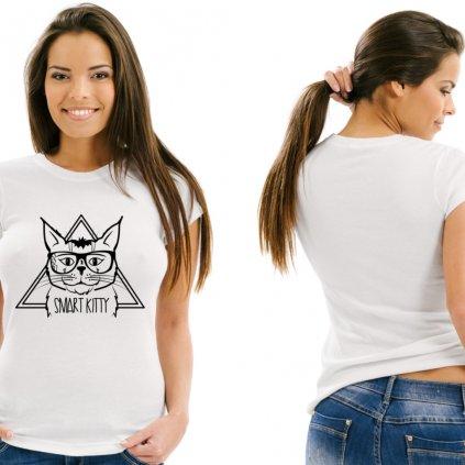Dámské tričko Smart Kitty