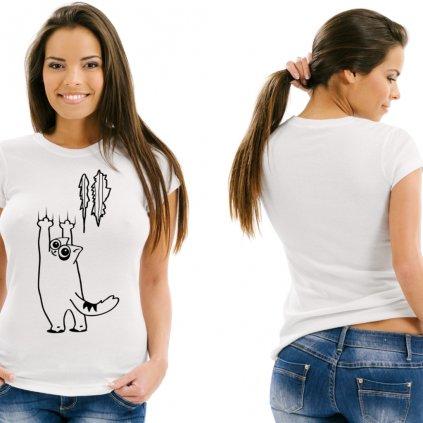 Dámské tričko Scratch