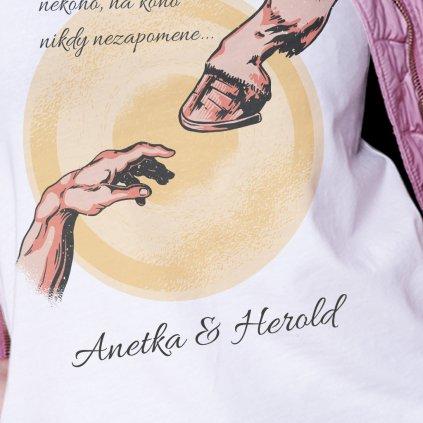 Pánské/Dámské tričko Každý z nás (jména na zákázku)