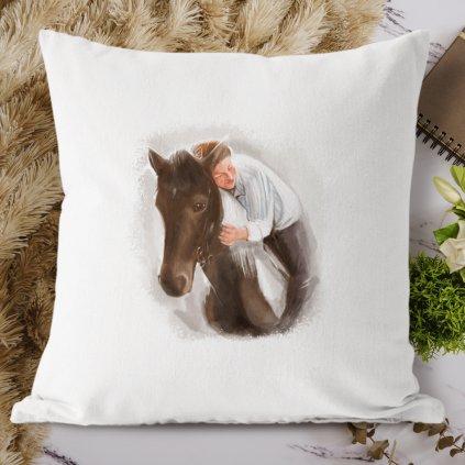 koňská láska polštář