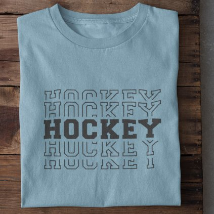 hockey modrá