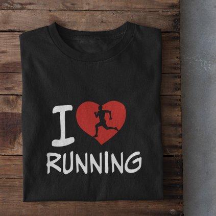 i love running černá