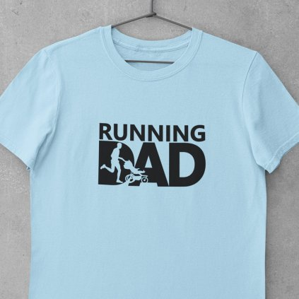 Running dad modré