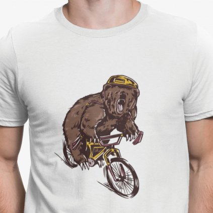 medvěd cyklista