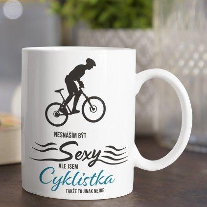 sexy cyklistka