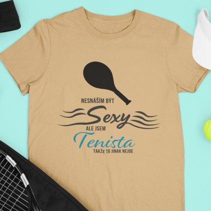 sexy tenista písek