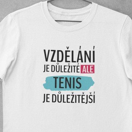 Vzdělání je důležité tenis