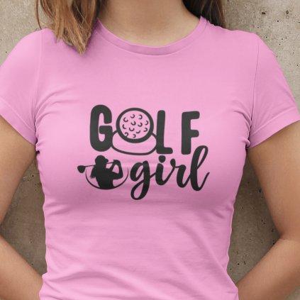 golf girl růž