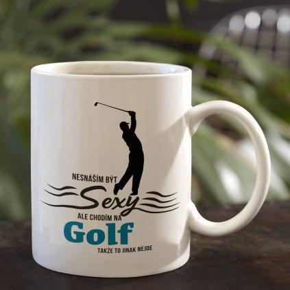 hrnecek nesnáším být sexy golf