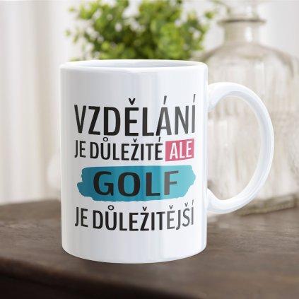 hrnecek vzdělání golf