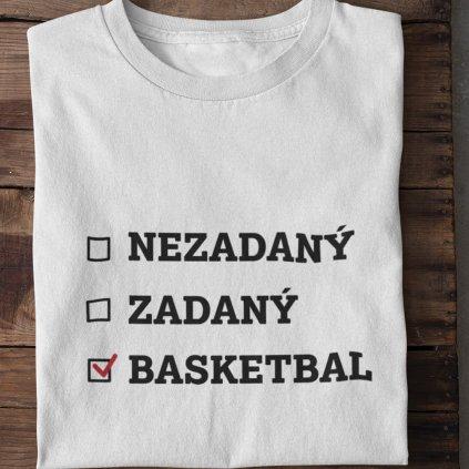 zadaný nezadaný basket