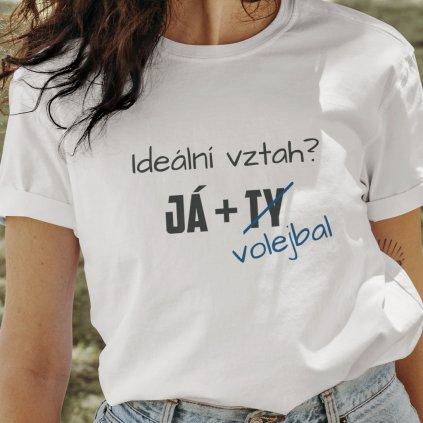 vztah volejbal tričko
