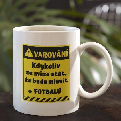 varování fotbal