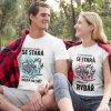 Dámské párové tričko O tuhle holku se stará nejlepší rybář