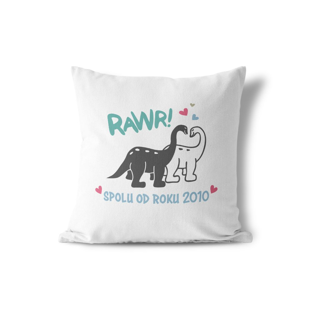 dinosaurus od roku pillow