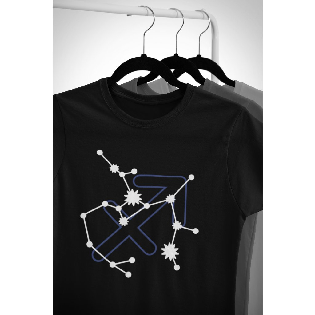 mockup of a t shirt hanging from a rack 26875 (6)